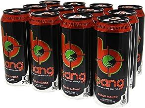 VPX Bang Peach Mango - 16 Fl. Oz (12 Count) (1 PT) 473 ml
