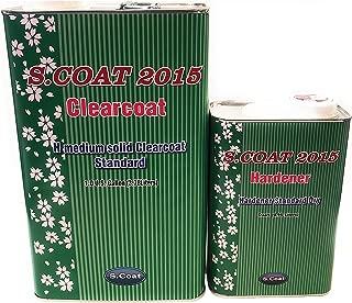 S.COAT MEDIUM SOLID CLEAR COAT GAL W/STANDARD HARDENER 4:1