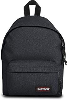 Eastpak Orbit Mini Zaino, 34 cm, 10 L, Tessuto glitterato, Blu (Spark Cloud)