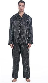 Shorts Nachtwäsche Satin Pyjama Set Lose Herren Seide Kurzarm Oberteile