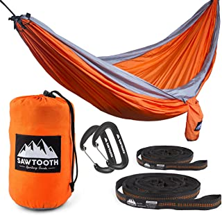 sawtooth double camping hammock