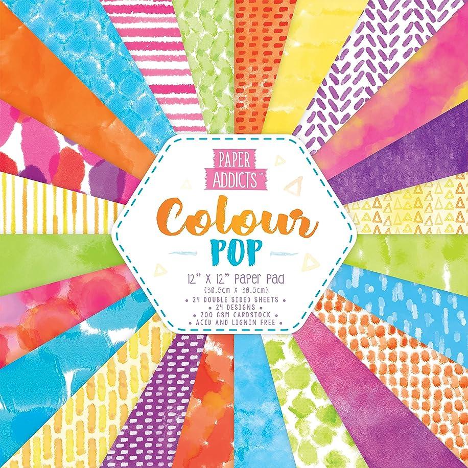 Paper Addicts Colour Pop Paper Pad 12