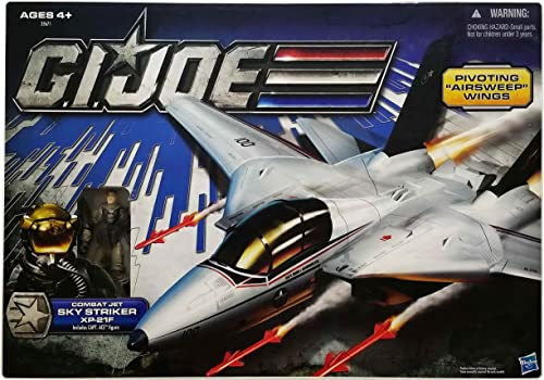 GI JOE SKY STRIKER JET W FIGURE