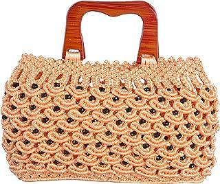 Raka Craft Women's Clutch (Orange, Raka 16)
