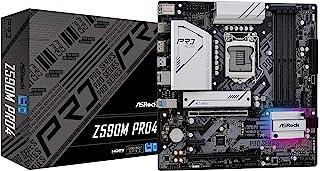 ASRock Intel 第10・11世代CPU(LGA1200)対応 Z590 チップセット搭載 MicroATX マザーボード 【国内正規代理店品】 Z590M Pro4