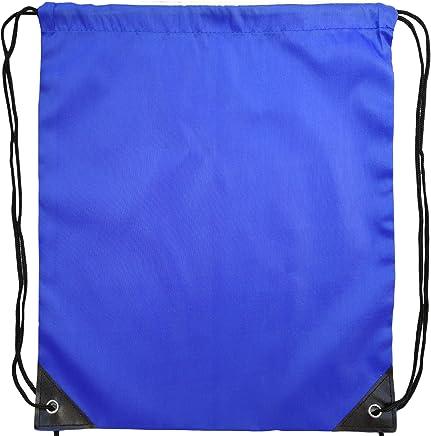 Gym Sack Drawstring Bag Drawstring Backpack Rucksack Unisex Gym Bag Swim Bag Gym sac Water Resistant bag School bag backpack GYMnastics,Perfect for School,Sports,Beach,Books & Travel- Colourful