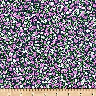 Kaufman London Calling 9 Berry Fabric by The Yard