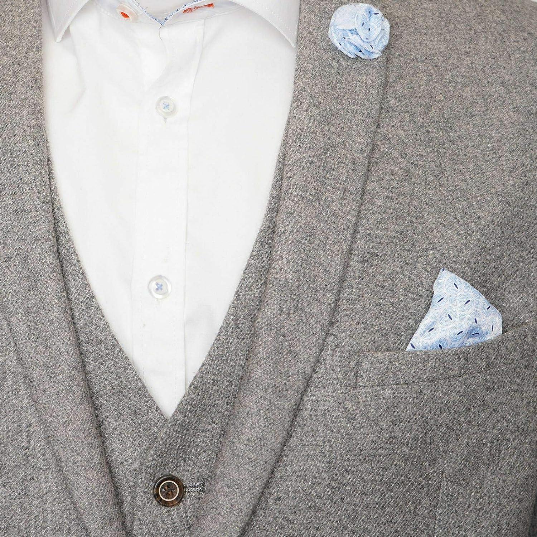 HARRY BROWN Wool Suit Slim Fit 3 Piece