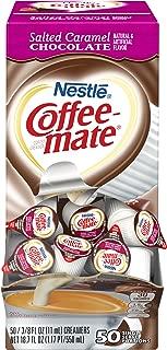 Nestle Coffee-mate Coffee Creamer, Salted Caramel Chocolate, liquid creamer singles, 50 count