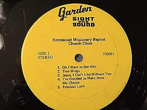 Emmanuel Missionary Baptist Church Choir