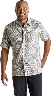 ExOfficio Men's Next-to-Nothing Pindo Print Lightweight Short-Sleeve Shirt