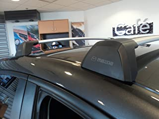Mazda 32014Skyactiv 5Hatchback New OEM Roof Rack Crossbars 0000-8L-L20