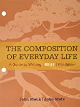 Bundle: The Composition of Everyday Life, Brief, Loose-leaf Version, 5th + LMS Integrated for MindTap English, 1 term (6 months) Printed Access Card