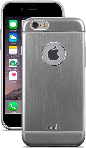 2021 Moshi new arrival iGlaze Armour Aluminum iPhone online sale 6/6s Case - Gunmetal Gray outlet online sale