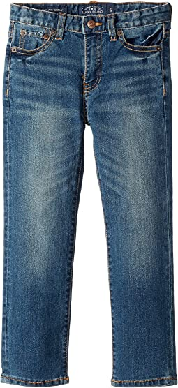 Lucky Brand Kids - Core Denim Medium Blue Skinny in Yorba Linda (Little Kids/Big Kids)