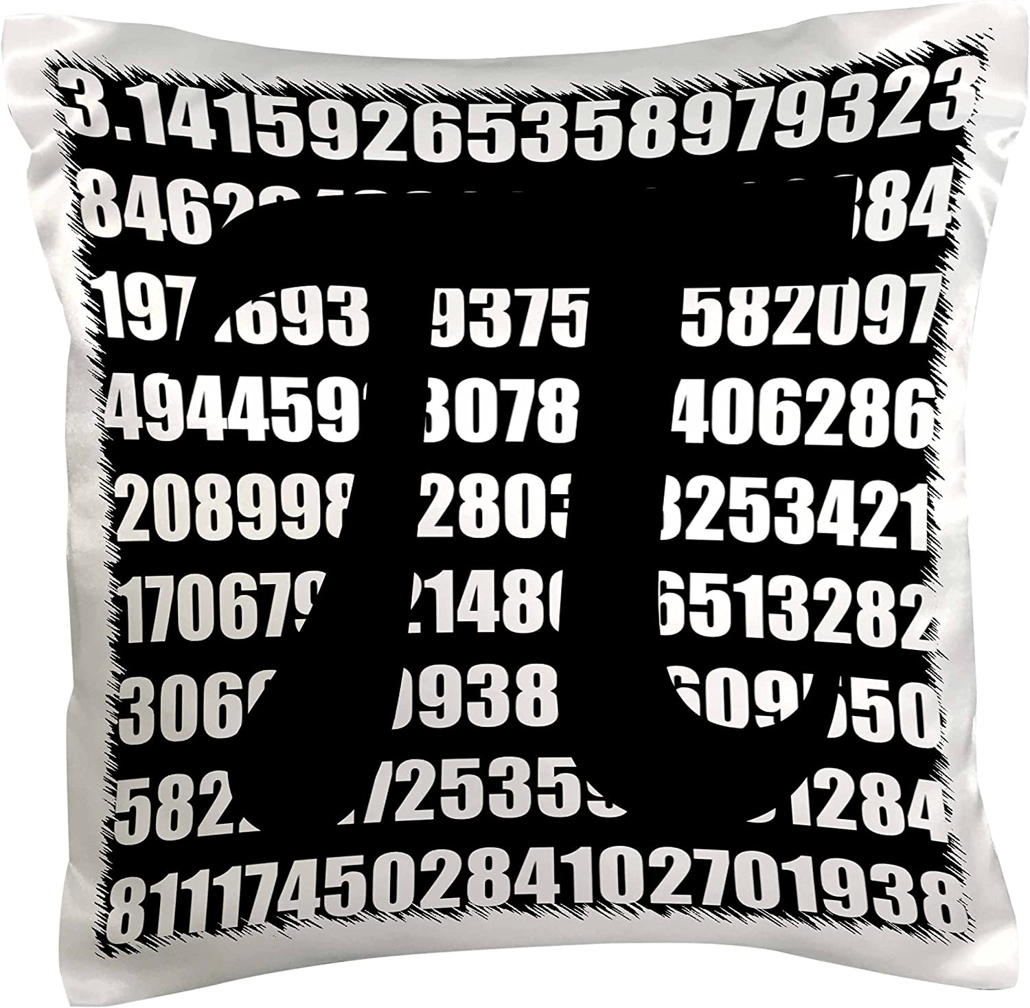3dRose pc_164994_1 Pi Symbol on Number Math Mathematical Numeric Sign for Mathematicians Pillow Case, 16