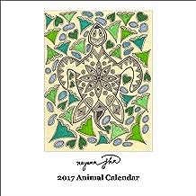 Retrospect Group Nayana Jha - Animals 2017 Square Calendar