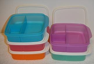 طقم علب حفظ الطعام مقسم من تابروير – 5 قطع،