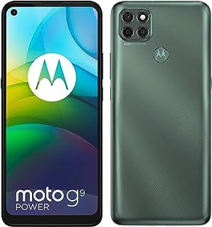 موتورولا موتو G9 باور ثنائي شريحة الاتصال 128 جيجا ذاكرة داخلية + 4 جيجا بايت ذاكرة وصول عشوائي من المصنع غير مغلق (رمادي ...