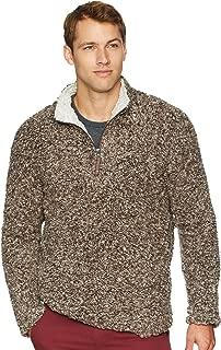 Men's Softest Tip Shearling 1/4 Zip Pullover