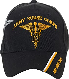 Officially Licensed US Army Nurse Corps Embroidered Black Baseball Cap