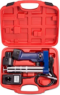 Neiko 12000A 12V Cordless Grease Gun, 6500 PSI   Dual Ni-Cd Rechargeable Batteries Included