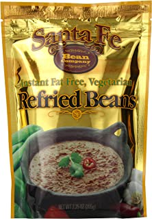 Santa Fe Bean Company Instant Fat Free Vegetarian Refried Beans 7.25-Ounce (Pack of 8)..