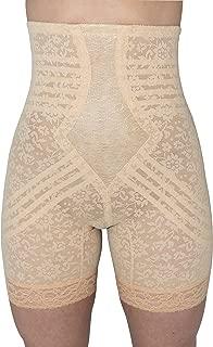 Rago Hi Waisted Long Leg Shaper Shapewear (S Beige)