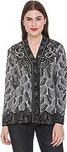 Shree Mark Womens Button Woolen Cardigan.
