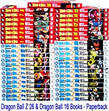 1-16 & 1-26 Complete Dragonball Manga Collection (Dragon Ball, Dragonball, Dragonball Z,, Entire Series) (Dragon Ball, DragonBall, DragonBall Z,, ALL of both TITLES)