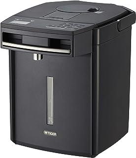 TIGER 虎牌 保温瓶 电热水壶 无蒸汽 省电VE 保温 附带热水量显示功能 TOKUKO SAN 2.2升 黑色PIM-G220K