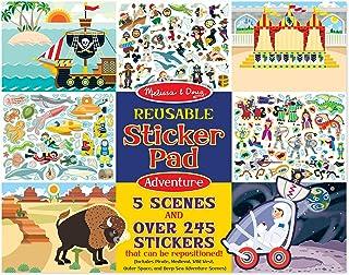 Melissa and Doug Reusable Sticker Pad - Adventure Pad