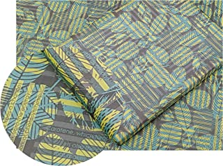 eVincE Gift Wrapping Paper, Green leafy pattern for all occasion   Pack of 25 thick matte recyclable sheets   70 x 50 cms...
