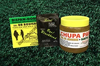 Dispan Doble suplemento, Chupa Panza Gel Con Bamitol Jengibre Ginger Pack (Charcoal Mask Included)