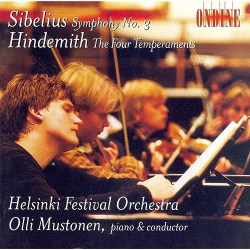 Sibelius, J.: Symphony No. 3 / Hindemith, P.: The 4 Temperaments