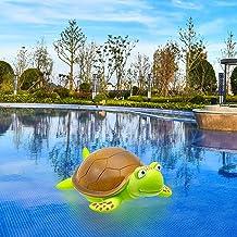 Flotador de cloro para piscina, dispensador flotante de cloro, cloro flotante, dispensador de cloro para tabletas, herramientas de limpieza de piscinas para bañera de hidromasaje y spa (tortuga)