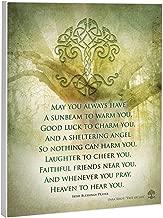Elanze Designs Irish Prayer 8 x 10 Wood Print Overlay Wall Art Sign Plaque