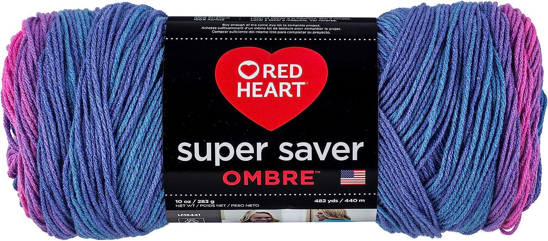 Red Heart Ombre Yarn, Sweet Treat