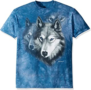 The Mountain Wolf Portrait T Shirt - Adult Short Sleeve