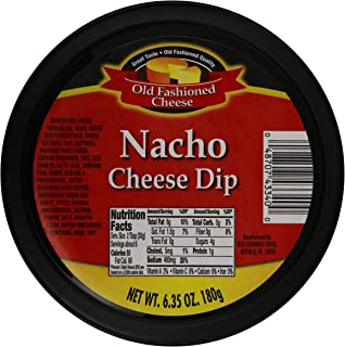 Old Fashioned Cheese Dip, Nacho, 6.35 Ounce (Pack of 12)