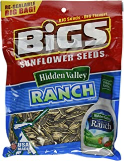 Bigs Zesty Ranch Sunflower Seed, 5.3500-Ounce (Pack of 12)