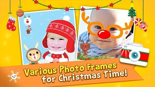 『Pinkfong Christmas Fun: 赤ちゃん・幼児・子供向けのクリスマス歌、ゲーム、カメラ、知育』の5枚目の画像