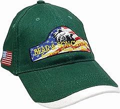 product image for Bear & Son Design 6-Panel Baseball Cap with Adjustable Hook & Loop Hat, Dark Tan