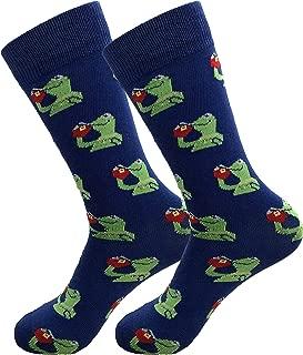 Kermit Meme Dress Socks Funny Socks Crazy Socks Casual Cotton Crew Socks