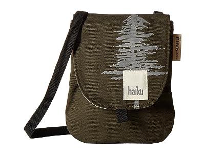 Haiku Sunrise Mini Crossbody (Pine) Cross Body Handbags