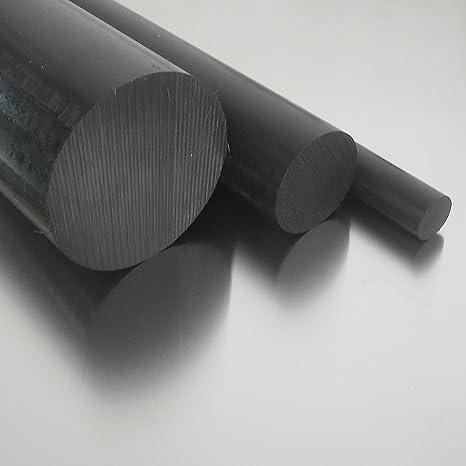 Kunststoffstab Zuschnitt L: 400mm 40cm Polyamid PA6 Rundstab natur /Ø 60mm