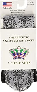 Celeste Stein CMPS-DMSK Therapeutic Compression Socks, 0.6 Ounce