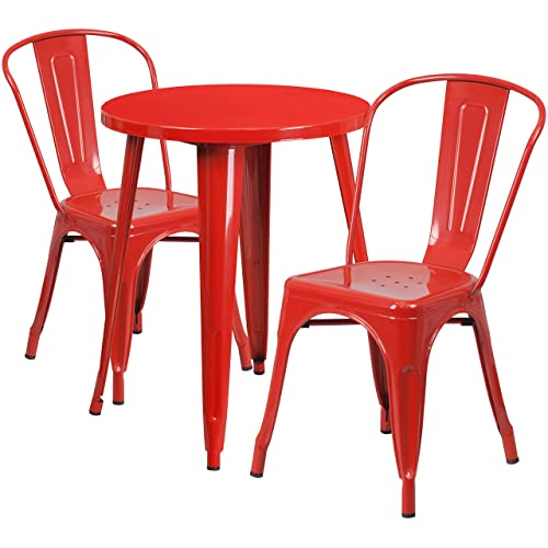 Cafe Table and Chairs: Amazon.com
