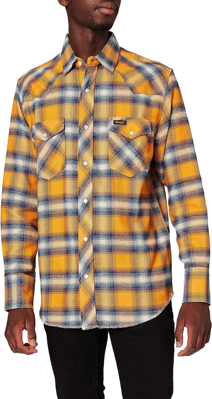 Wrangler Workshirt Camisa para Hombre