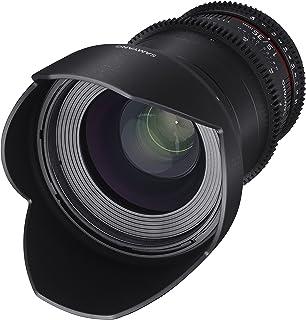 Samyang SYDS35M MFT VDSLR II 35 mm T1.5 Weitwinkel Cine Objektiv für Olympus/Panasonic Micro 4/3 Kameras